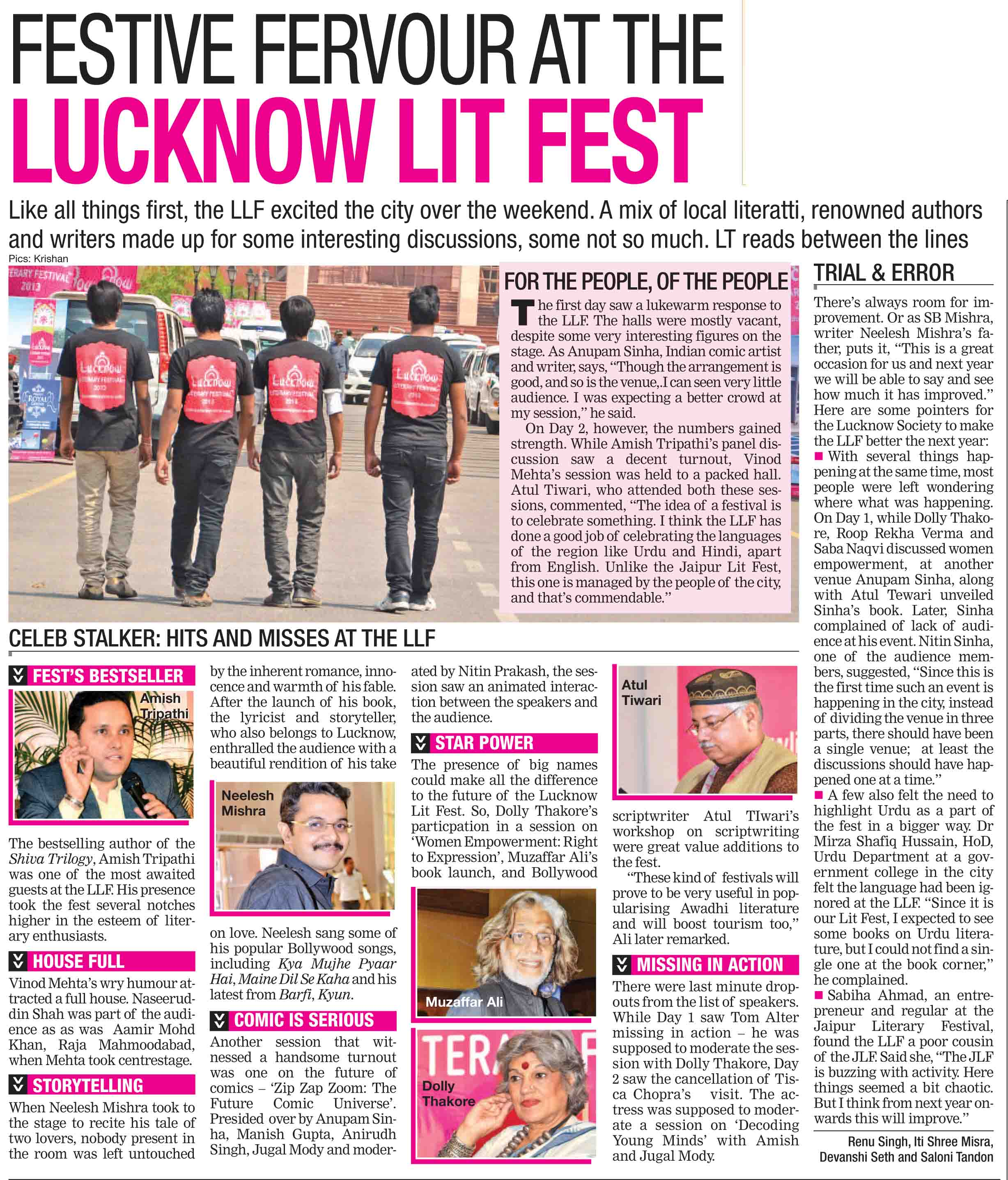 A study on sales and promotion of times of india group magazine in lu….